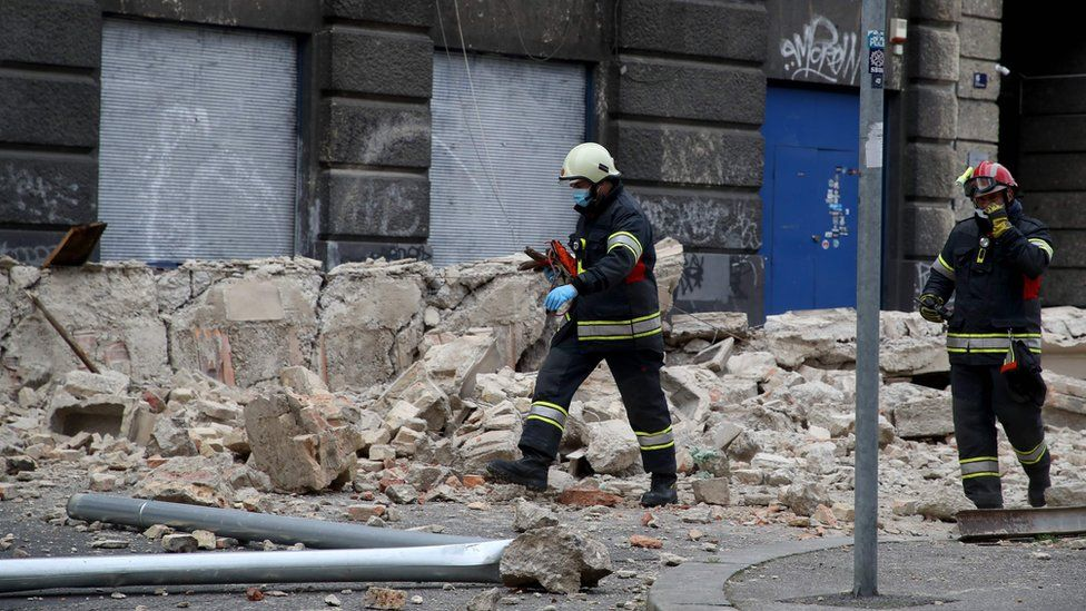 Землетрус у Загребі
