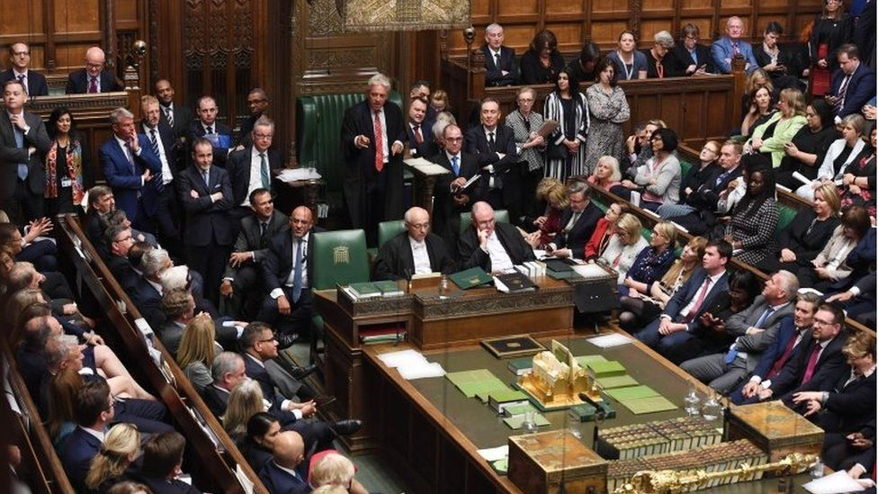 Bercow and Westminster parties agree to 'use moderate language'