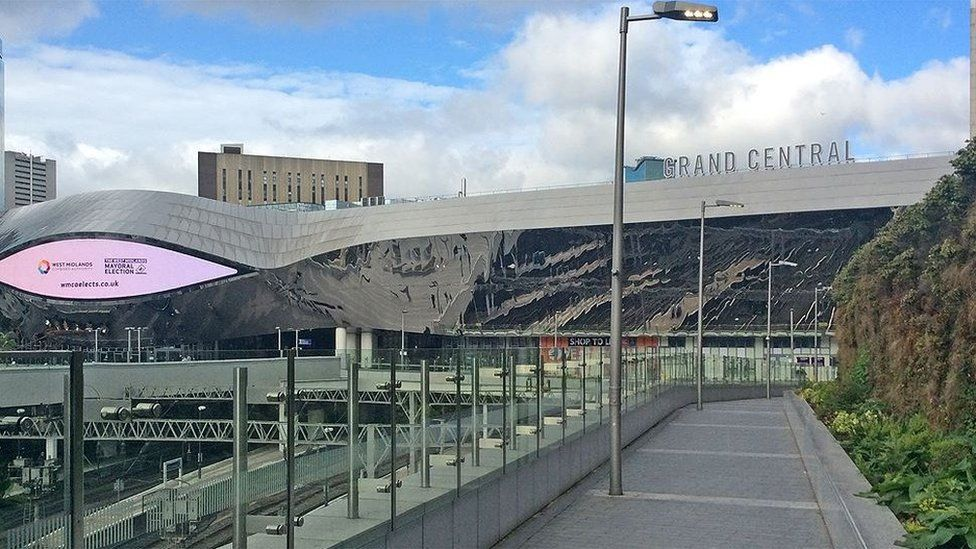 Birmingham New Street and Grand Central