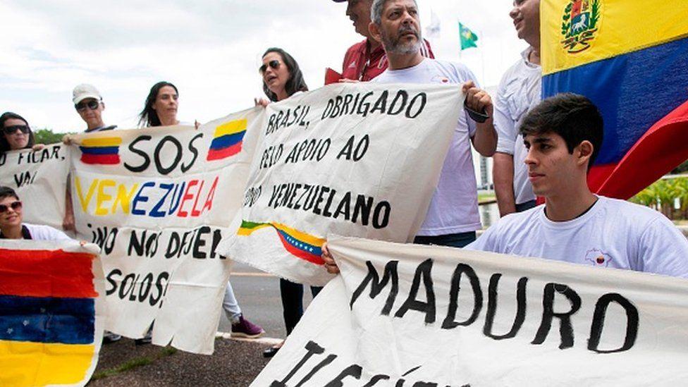 Nicolás Maduro protestors
