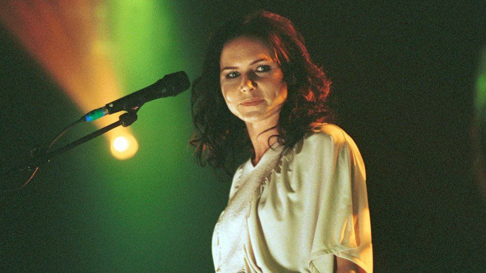 Nina Persson of The Cardigans