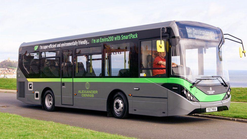 Alexander Dennis Enviro200 bus