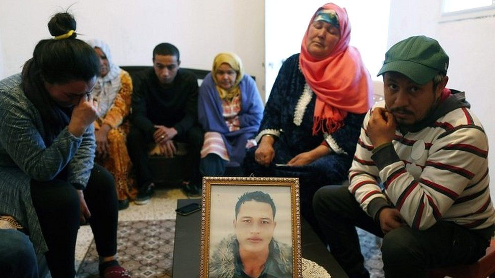 The family of Anis Amri in Tunisia