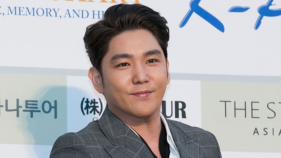 Kangin spent 14 years with the South Korean boy band
