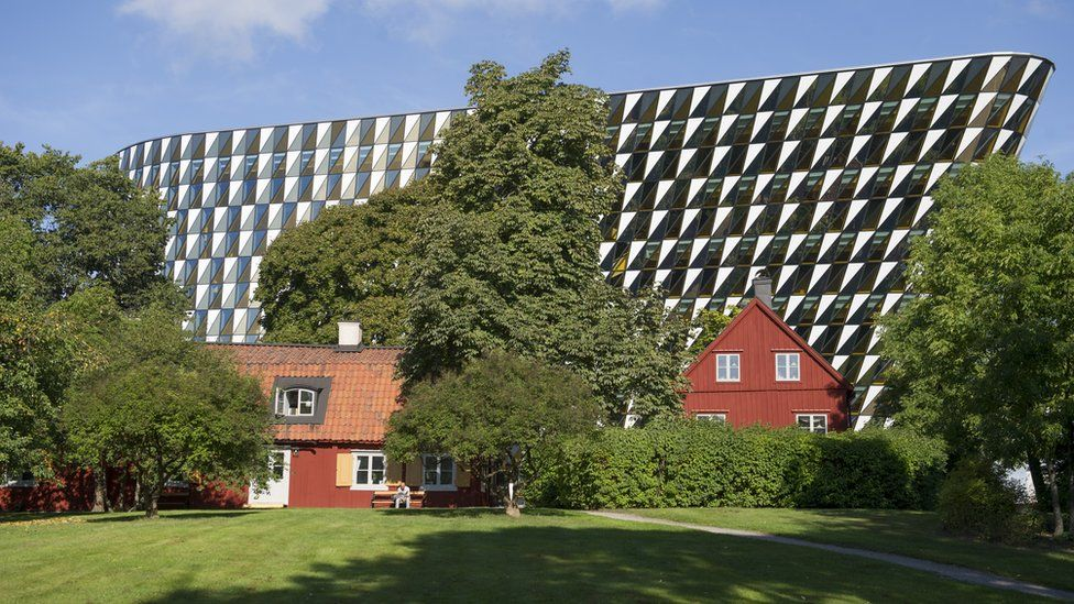 The Karolinska Institute's striking campus