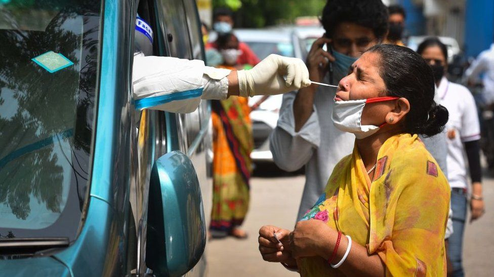 Indicating a respite from the outbreak of the coronavirus pandemic, Delhi's COVID-19 positivity rate has dipped below 5 percent on Friday.