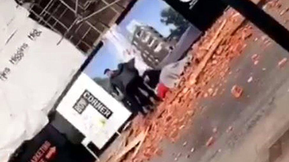 Tower Hamlets brick incident
