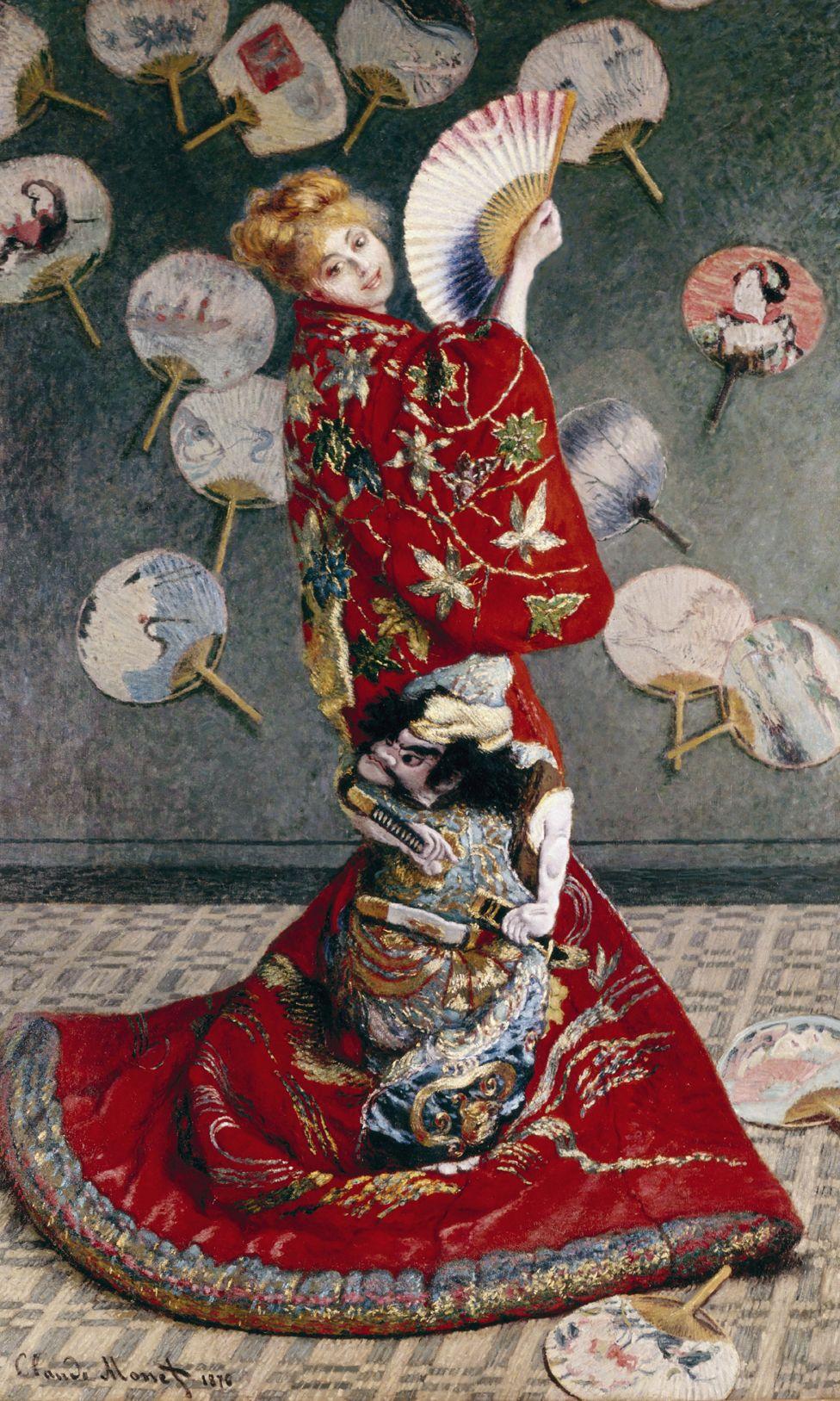 La Japonaise by Claude Monet