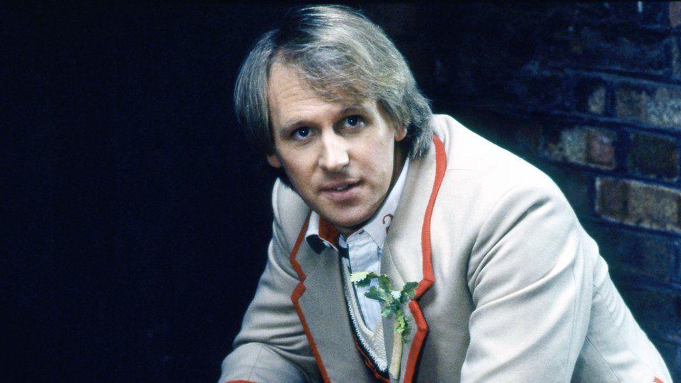 Peter Davison as The Doctor