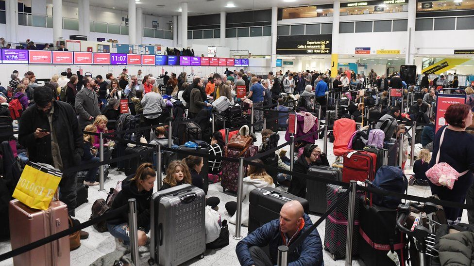 Gatwick Airport police 'not prepared for two drones'