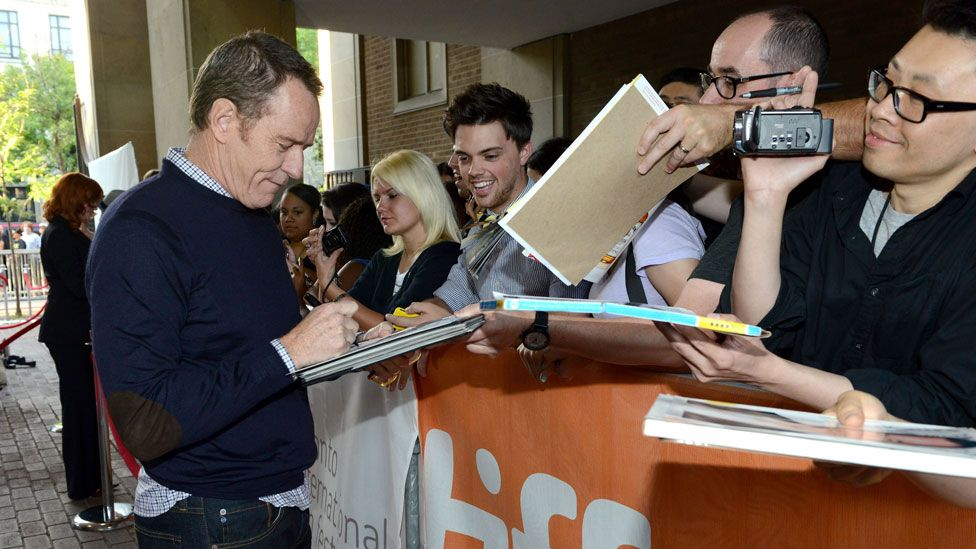 Bryan Cranston joins the ranks of the no-autograph