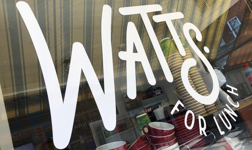 Watts for Lunch sandwich shop