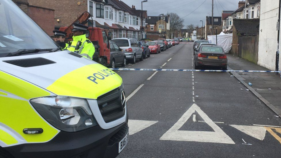 Police activity at Chalgrove Road,