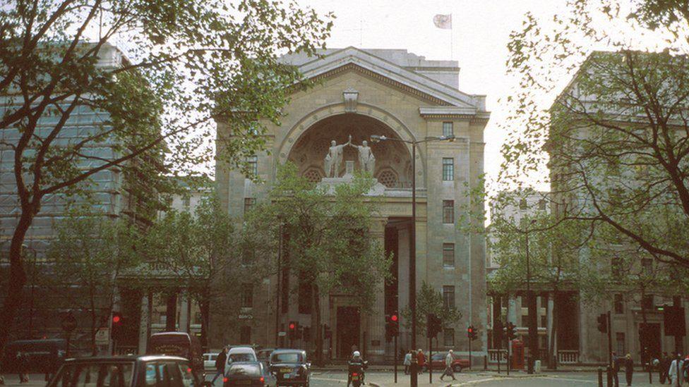 Bush House in London, the UK