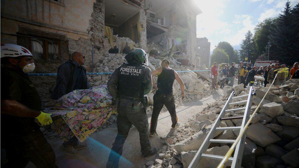 Por qué se producen tantos terremotos en Italia