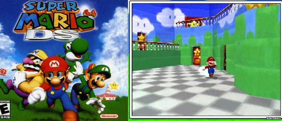 Super Mario DS 64