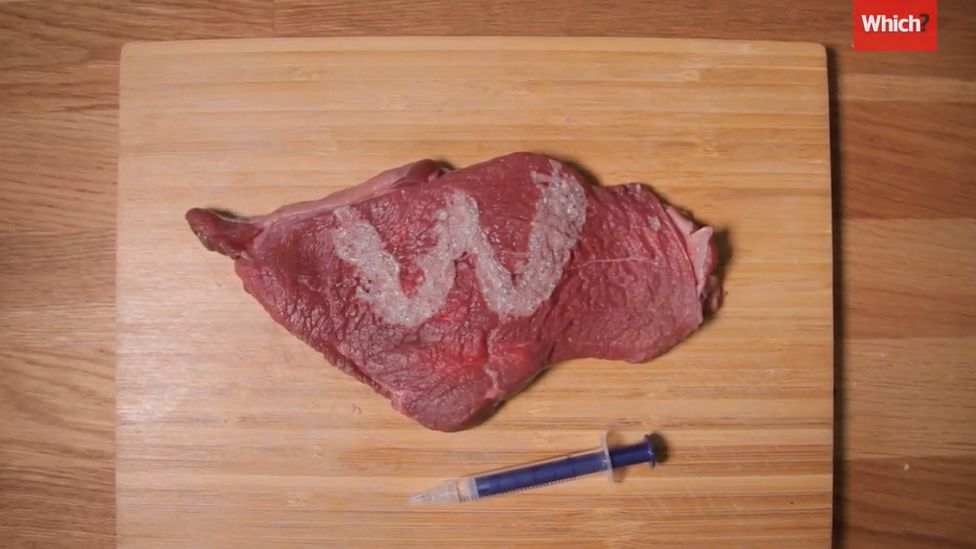 What one product did to a steak