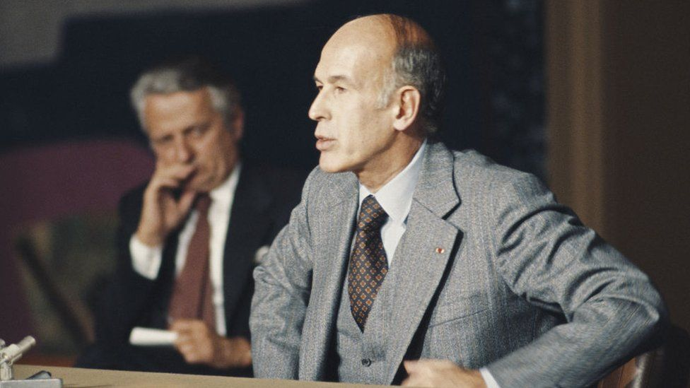 Valéry Giscard d'Estaing pictured in 1978