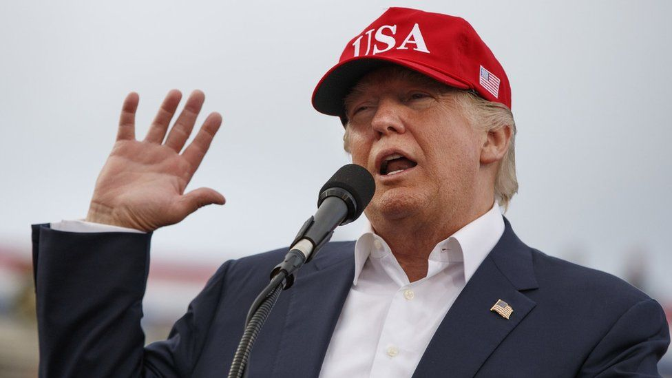 President-elect Donald Trump in Mobile, Alabama
