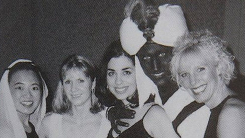 Justin Trudeau 'in 2001 brownface yearbook photo'