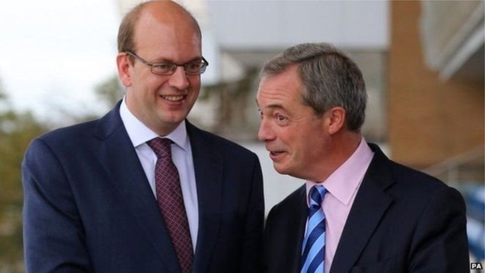Mark Reckless a Neil Farage