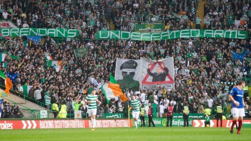celtic park banners