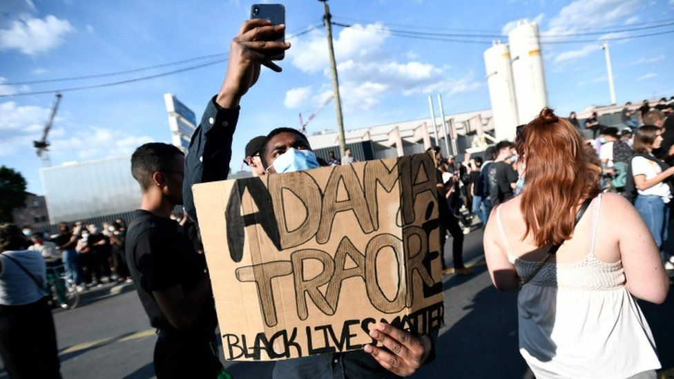 Calls for justice for Adama Traore, who died after being detained in 2016, have re-ignited in France