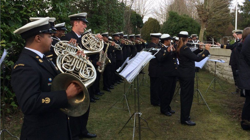 The sinking of SS Mendi is commemorated 100 year on in Southampton