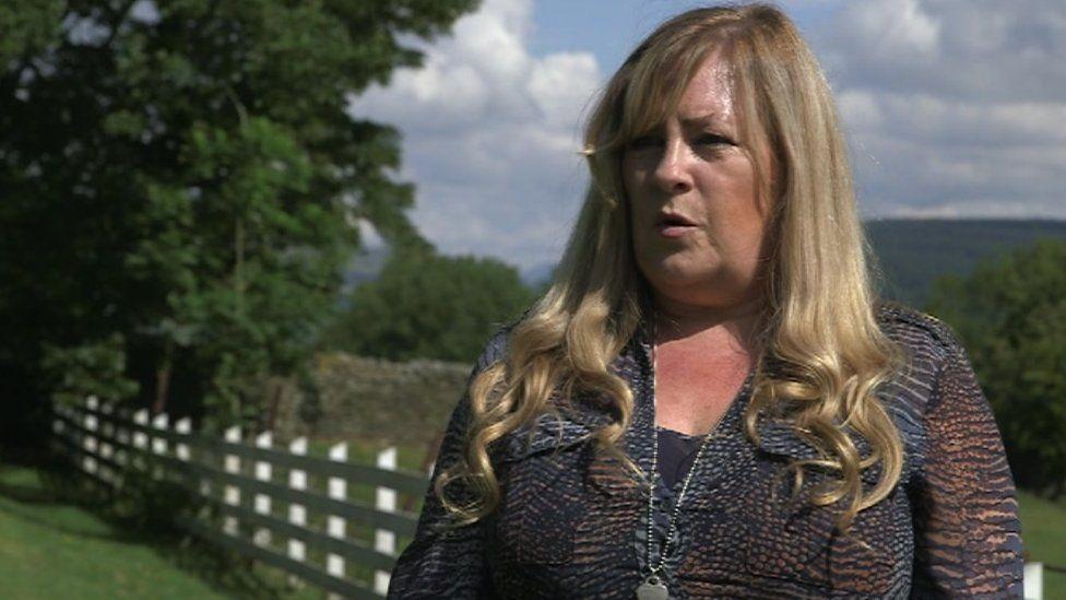 Wedding supplier Lynne Morgan