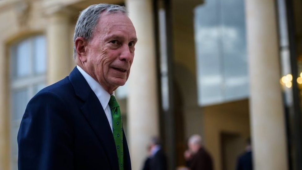 Michael Bloomberg in Paris. Photo: 2 June 2017
