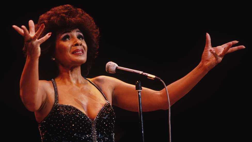 Shirley Bassey in the 1970s