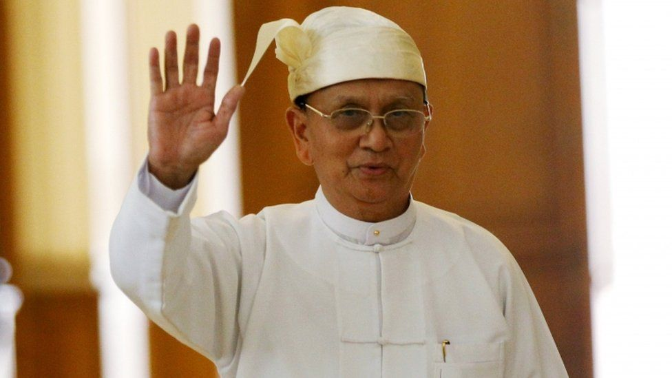 Myanmar's outgoing president Thein Sein