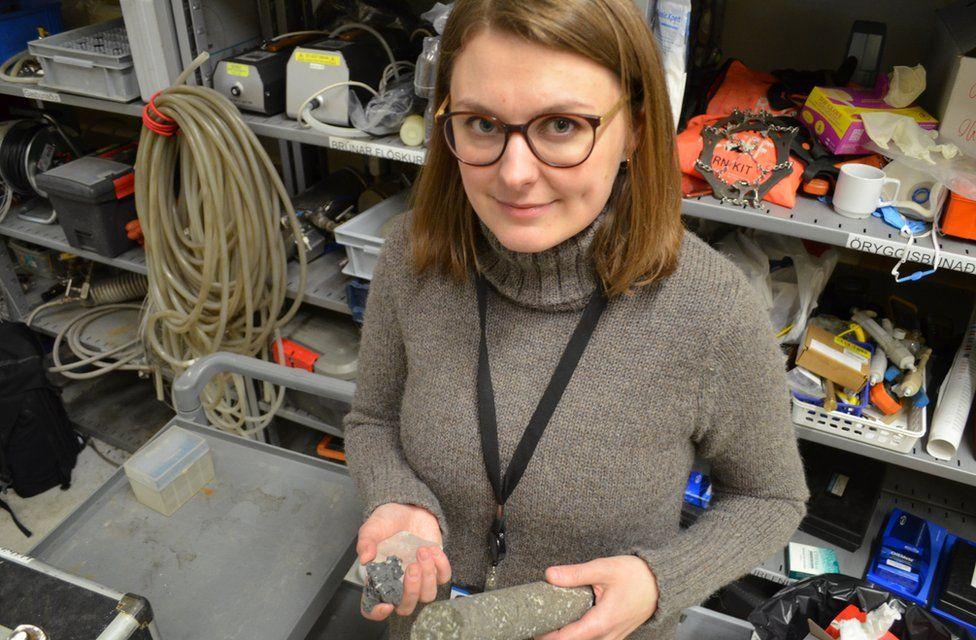 Sandra O Snaebjornsdottir, geologist in CarbFix