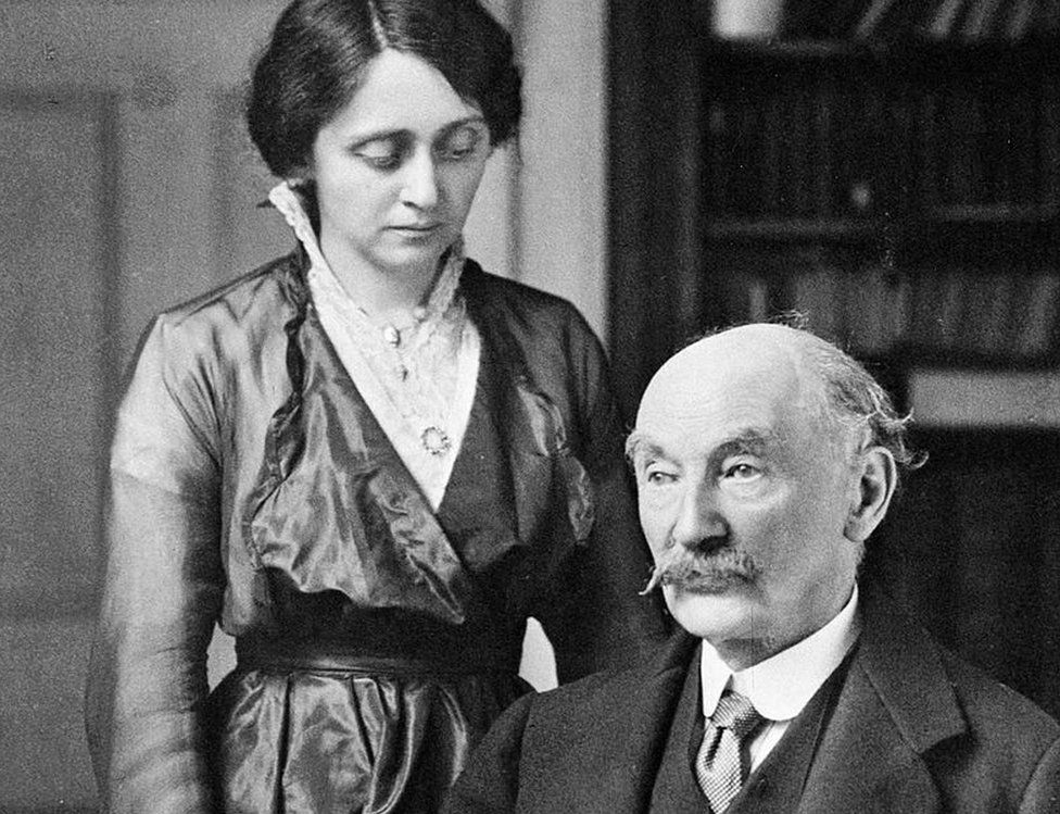Florence Dugdale and Thomas Hardy