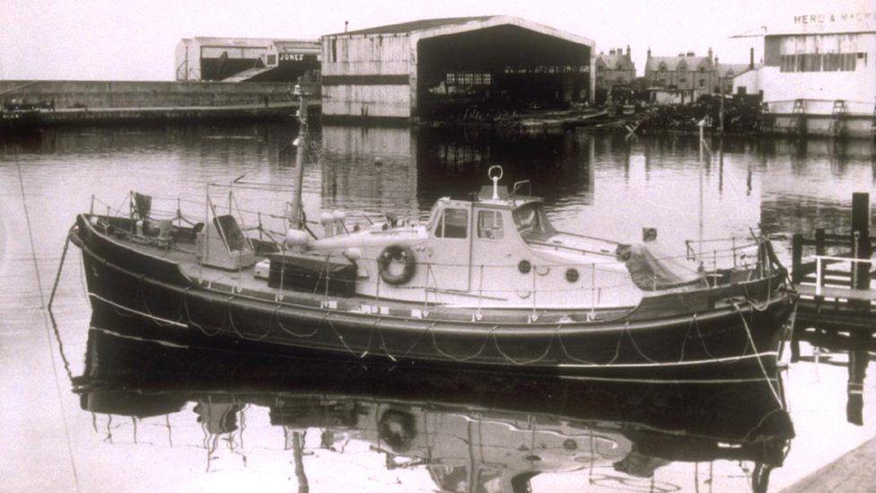 Buckie lifeboat