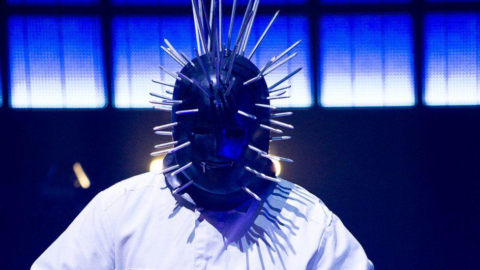 Slipknot's Craig Jones on stage