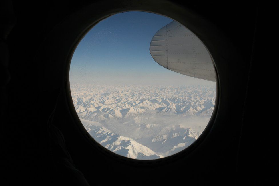 The Verkhoyansk mountain range is 2389 meters high (7800 ft). Three Antonov AN-24 planes from the Soviet era are still used to connect the region of Verkhoyansk to Yakutsk. Difficult climatic conditions sometimes make navigation dangerous and the airline owning the planes has had 6 crashes and major incidents since 2003.