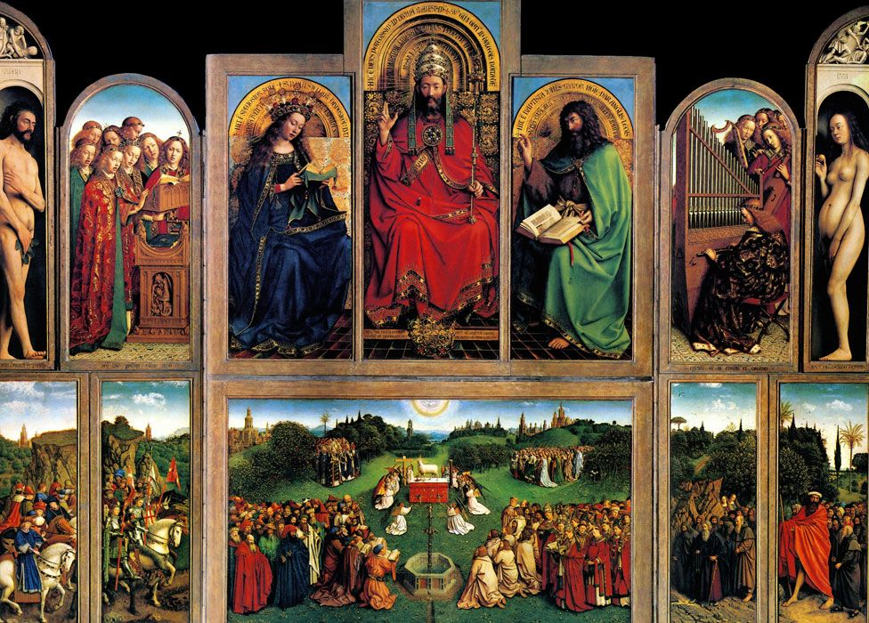Jan van Eyck's the Ghent Altarpiece