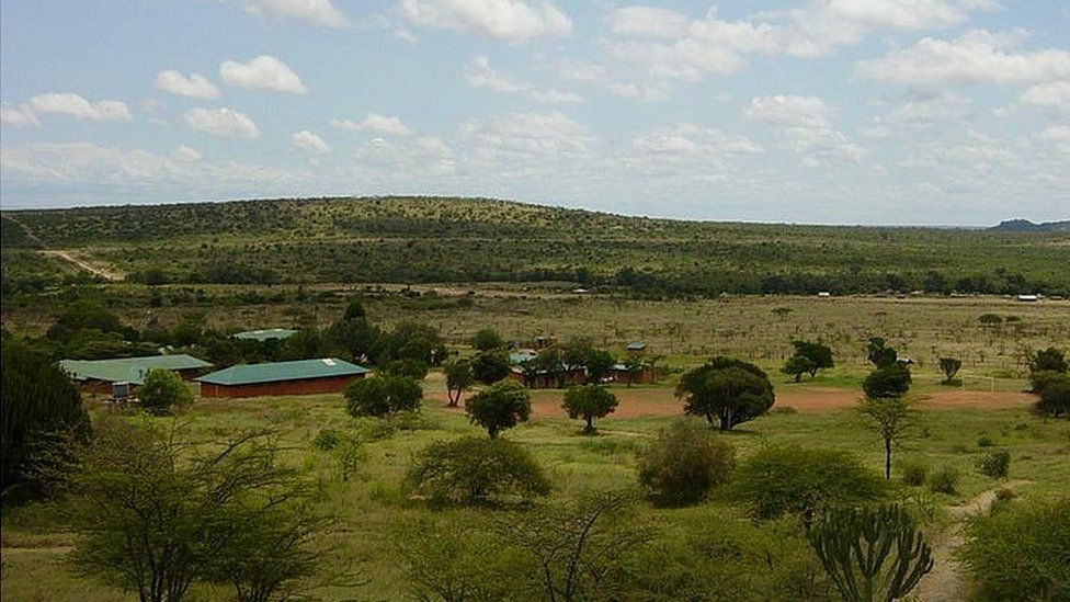 Landscape around Baraka School