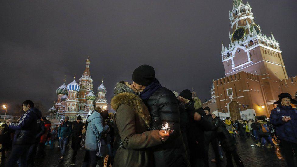 Празднование нового года в разных уголках мира
