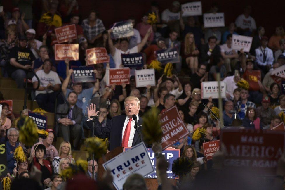 Donald Trump campaign event, Ambridge Philadelphia