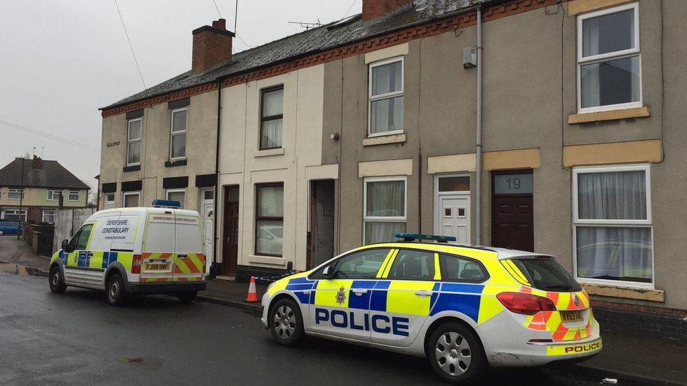 Police in Allen Road