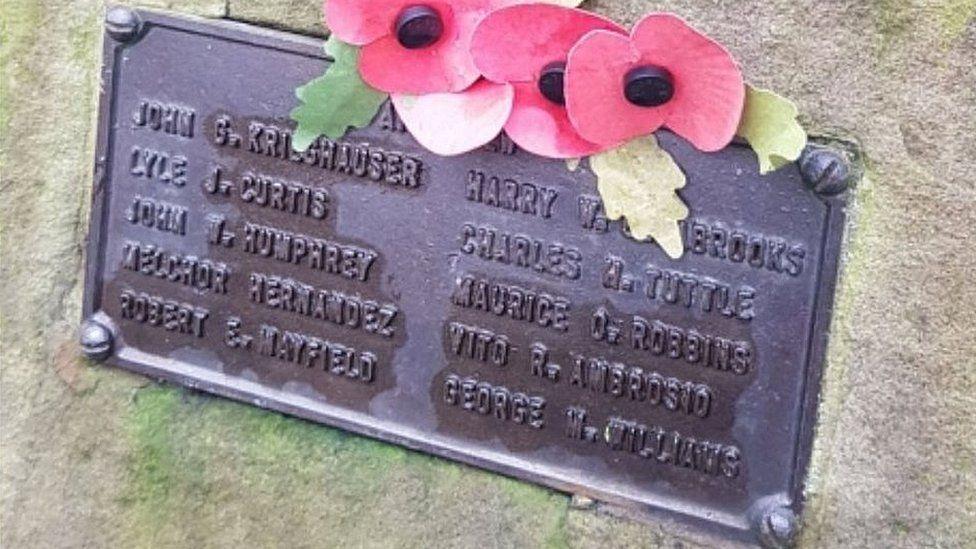 Endcliffe Park crash memorial
