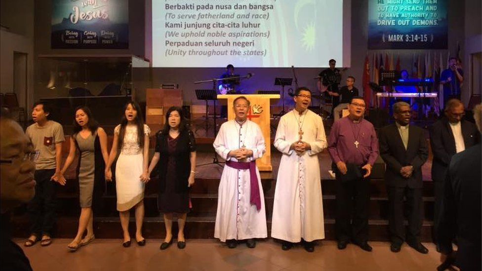 Pictures from a prayer service calling for the return of Raymond Koh, held in Kuala Lumpur on 4 April 2017