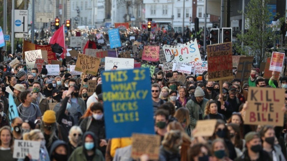 Bristol protest