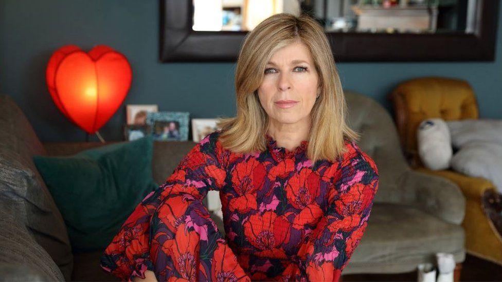 Kate Garraway in Finding Derek