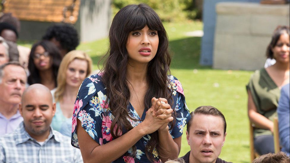 Image result for jameela jamil good place