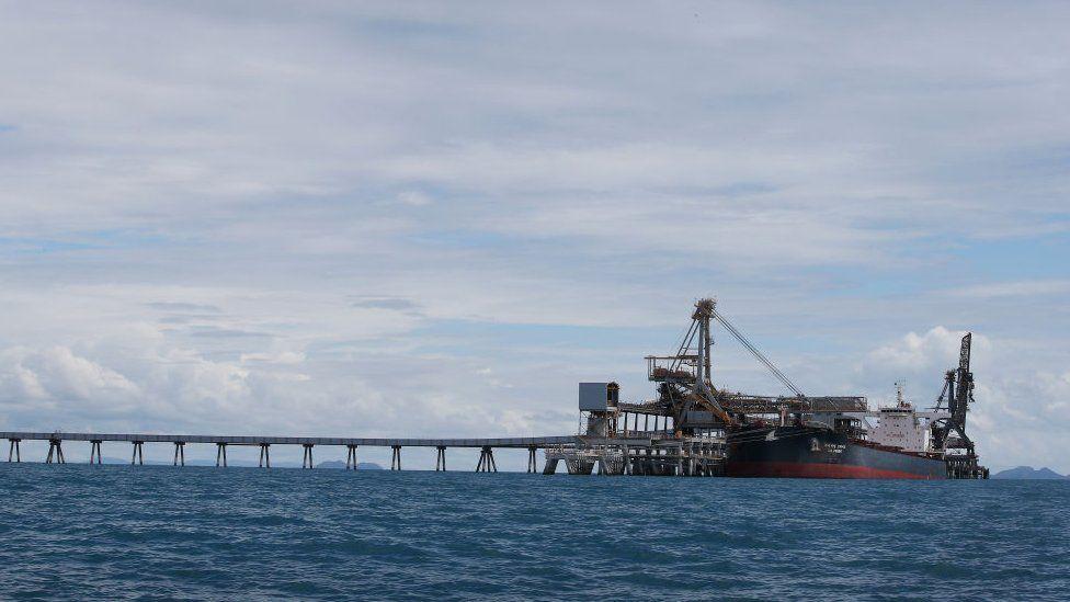 Queensland's Abbot Point coal terminal