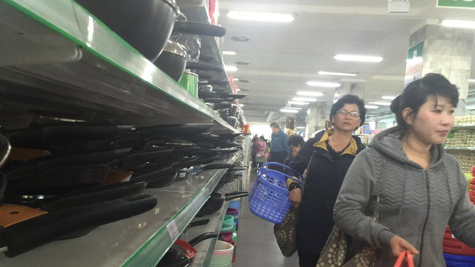 Shopping in Pyongyang