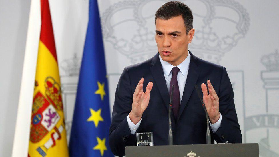 Spain PM Pedro Sánchez, 15 Feb 19